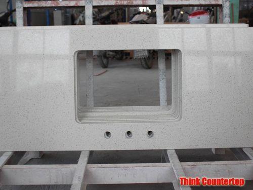 Sparkle White Quartz Countertop
