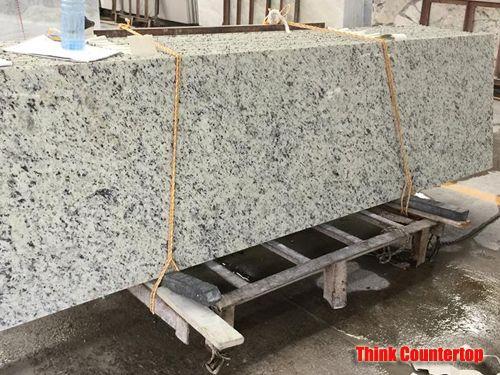 Brazilian White Rose Granite Countertop