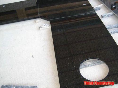 Indian Black Galaxy Granite Countertops