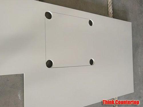Blanco Maple Quartz Kitchen Countertops