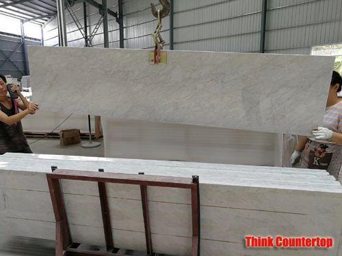 Prefab Carrara Marble Countertops Export To USA