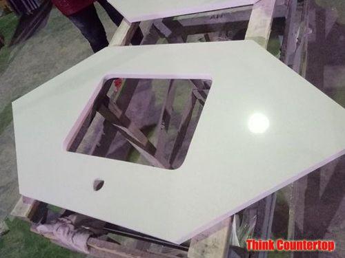 Stellar White Quartz Countertop