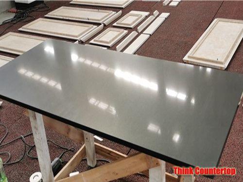 Black Quartz Stone Table Tops