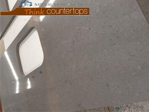 Artificial Gray Quartz Stone Worktops
