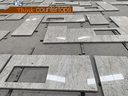 Thunder White Granite Worktops