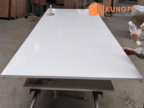 Absolute White Quartz Worktops China
