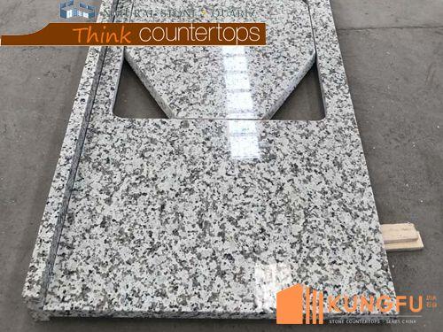 Prefab Bala White Granite Countertops