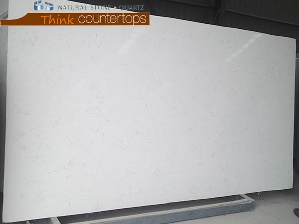 Ice Lake White Quartz Slabs For Sale